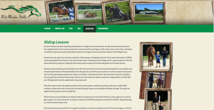 West Meadow Stables Website