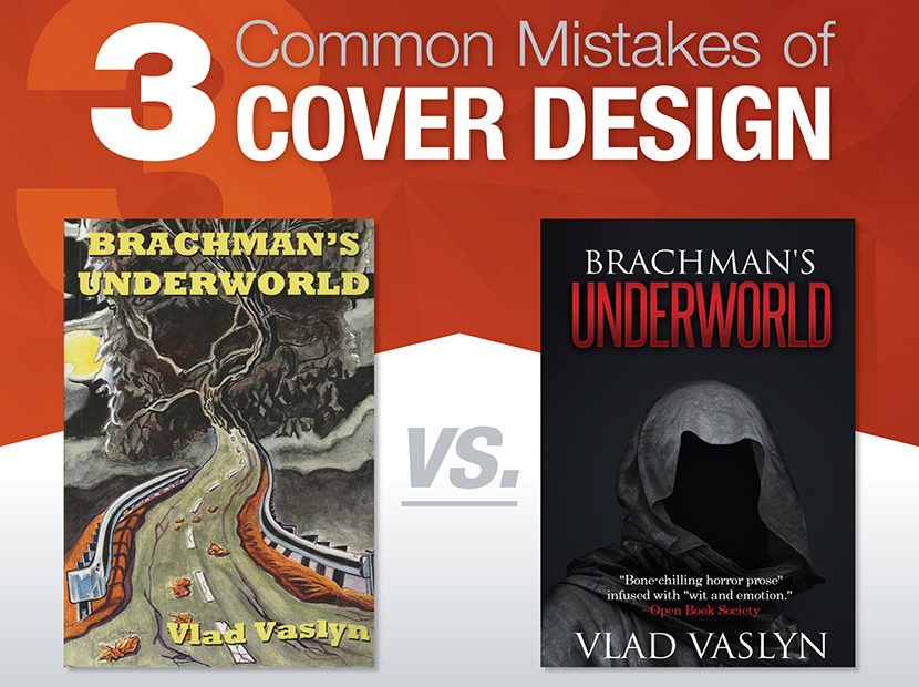 Self-Publishing: 3 Common Mistakes of Book Cover Design