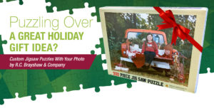 Puzzling over a great holiday gift idea?
